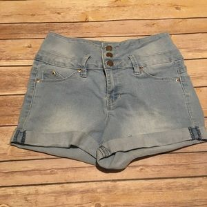 YMI Wanna Betta Butt? Denim Stretchy Shorts
